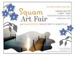SQUAM ART FAIR  & RAVELRY REVELRY