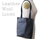 Leather Wool Linen