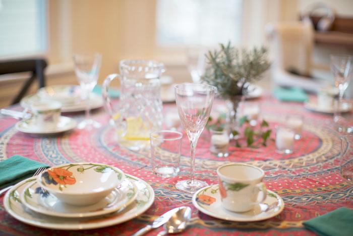 |  Thanksgiving dinner  |