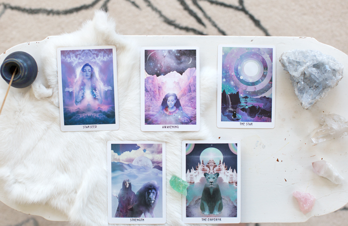A little Starchild tarot magic.