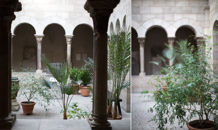 |  a visit to The Cloisters  |