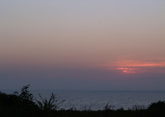 sunset at gooseberry island :: september 2014