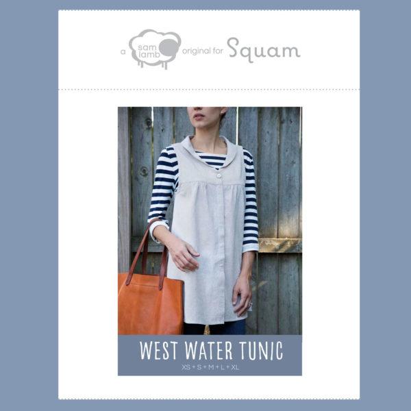 West Water Tunic PDF Pattern