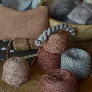 stepping into her world :: Emily Foden of Viola Yarns